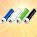 Power bank-uri promotionale din plastic cu capacitate de 2200 mAh - 12357203