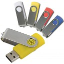 Stick-uri USB promotionale cu capacitate de 8GB si protectie metalica - 12468